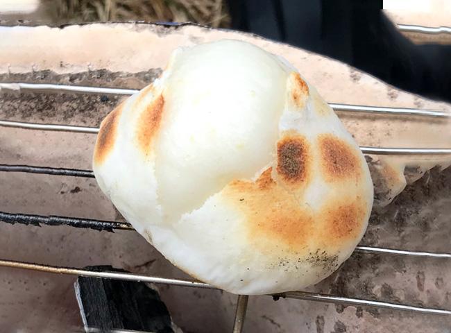 岡山県新庄村の餅
